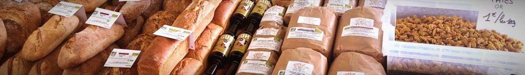 Produits fermiers bio et locaux